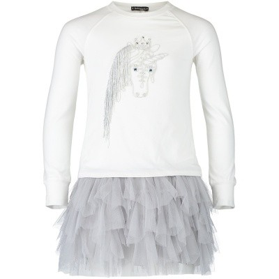 Picture of Kate Mack 506 kids dress off white