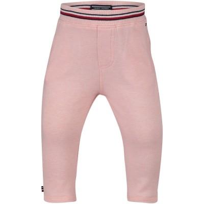 Afbeelding van Tommy Hilfiger KN0KN00864 baby broekje roze