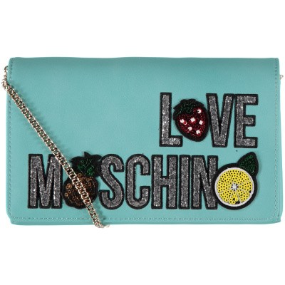 Picture of Moschino JC4297 womens bag turquoise