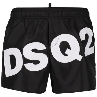 Afbeelding van Dsquared2 DQ03BK kinder zwemkleding zwart