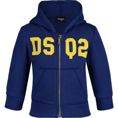 Afbeelding van Dsquared2 DQ03EB baby vest cobalt blauw