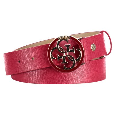 Picture of Guess BW7126VIN35 womens belt red