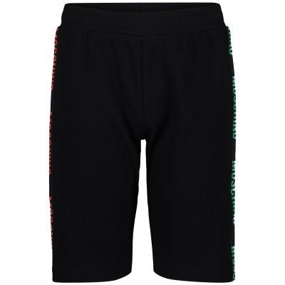 Afbeelding van Moschino HUP02T kinder shorts zwart