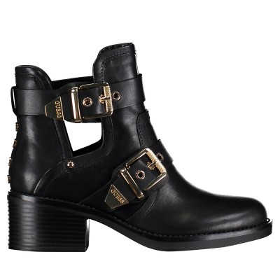 Picture of Guess FL5FONLEA10 womens boots black