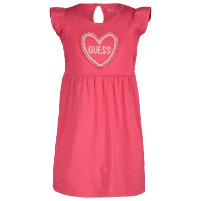 Picture of Guess K92K03 kids dress coral