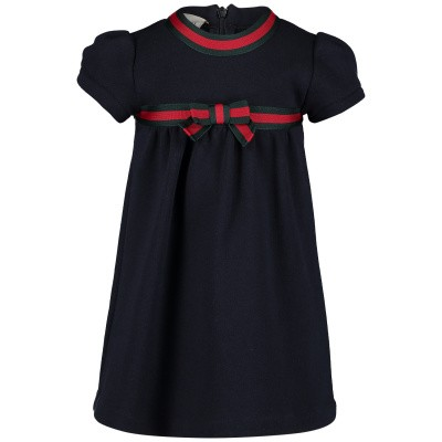 Picture of Gucci 478384 baby dress navy