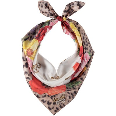 Picture of MonnaLisa 193015 kids scarf panther