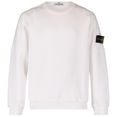 Picture of Stone Island 701660543 kids sweater white