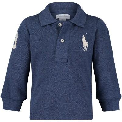 Afbeelding van Ralph Lauren 320703636 baby polo navy