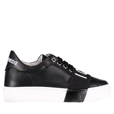 Picture of Dsquared2 59780 kids sneakers black