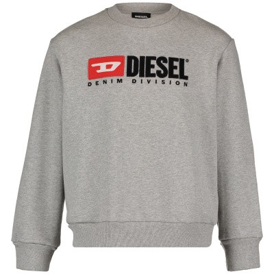 Picture of Diesel 00J48E kids sweater grey