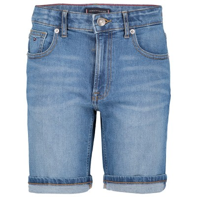 Afbeelding van Tommy Hilfiger KB0KB04832 kinder shorts jeans