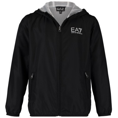 Picture of EA7 3GBB01 kids jacket black