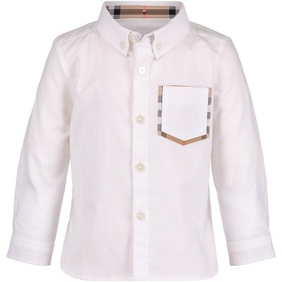 Picture of Burberry 8005442 baby blouse white