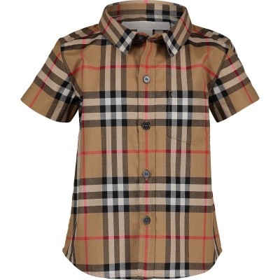Picture of Burberry 8002639 baby blouse beige