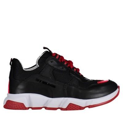 Afbeelding van My Brand UMB01 kindersneakers zwart