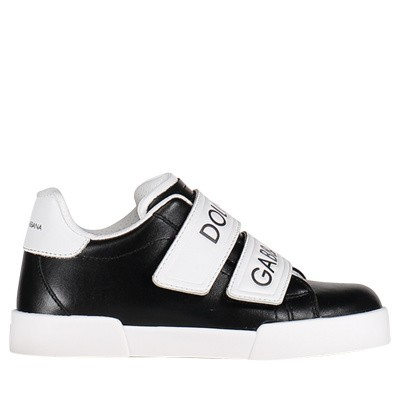 Picture of Dolce & Gabbana DA0688 kids sneakers black