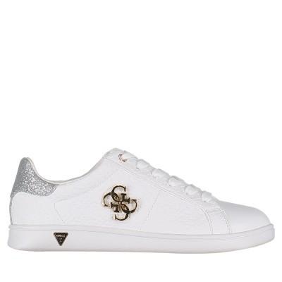 Afbeelding van Guess FLBYS1LEA21 dames sneakers wit
