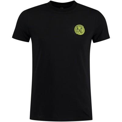 Afbeelding van My Brand MMBTS010S020 heren t-shirt zwart