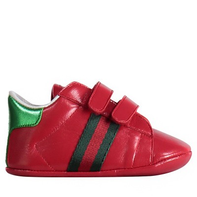 Picture of Gucci 500852 baby sneakers red