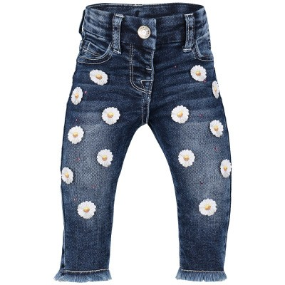 Picture of MonnaLisa 393401R4 baby pants jeans