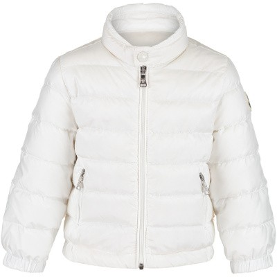 Picture of Moncler 4138799 baby coat off white