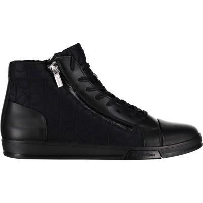 Afbeelding van Calvin Klein BERKE heren sneakers zwart