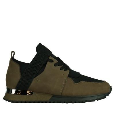 Afbeelding van Mallet TE1016 heren sneakers army
