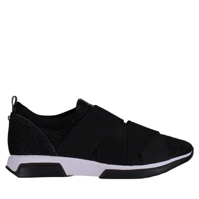 Picture of Ted Baker 918007 womens sneakers black