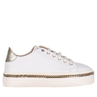Picture of Stokton 674D womens sneakers white