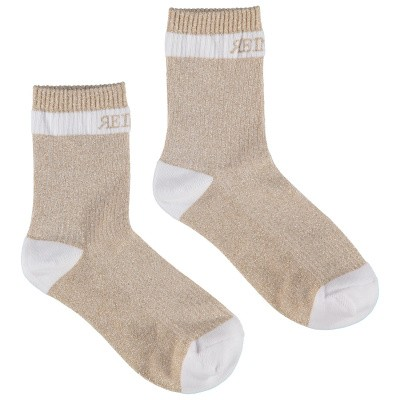 Picture of Reinders VES18W516D kids socks beige