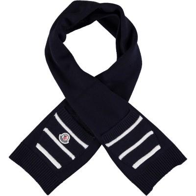 Afbeelding van Moncler 9900305 baby sjaal navy