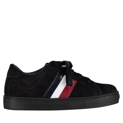 Picture of Moncler 0043000 kids sneakers navy