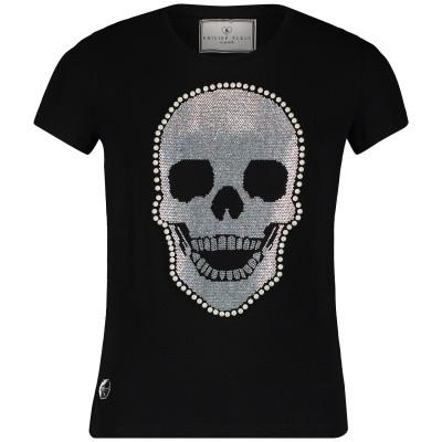 Picture of Philipp Plein GTK0358 kids t-shirt black