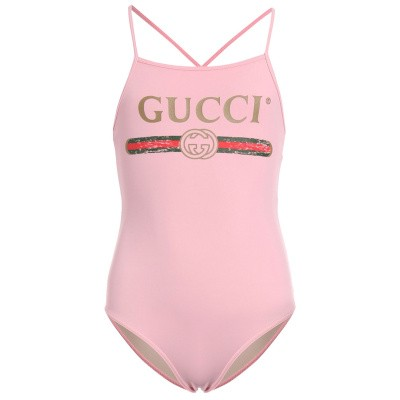 competitive price 93902 74776 Picture of Gucci 554359 baby swimwear light pink