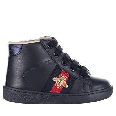 Afbeelding van Gucci 526166 kindersneakers navy