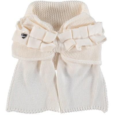 Afbeelding van MonnaLisa 172007 kinder sjaal off white