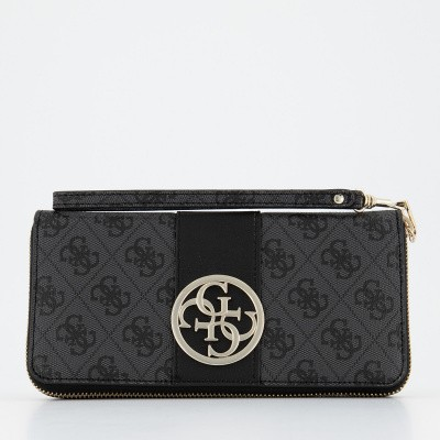 Picture of Guess SWSG7402460 womens wallet black