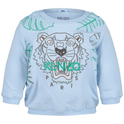 Picture of Kenzo KN15503 baby sweater light blue