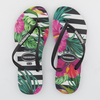 Picture of Havaianas 4139406 womens flipflops black