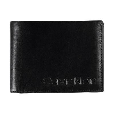 Picture of Calvin Klein K50K504463 mens wallet black