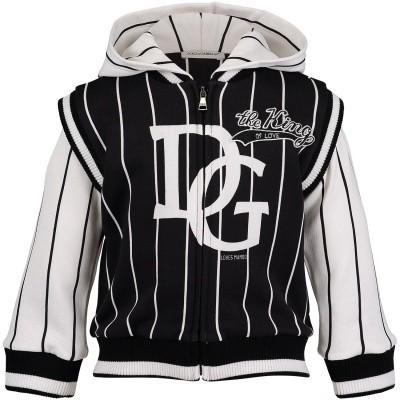Afbeelding van Dolce & Gabbana L1JW3L G7OQW baby trui navy