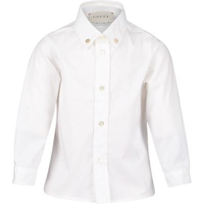 Afbeelding van Gucci 430284 baby blouse wit