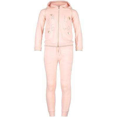 Afbeelding van Mayoral 4814 kinder joggingpak licht roze