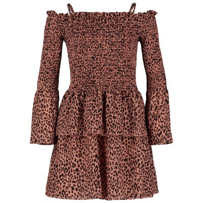 Picture of Jacky Girls JGSS19072 kids dress panther