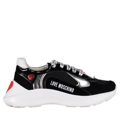 Picture of Moschino JA15296 womens sneakers black