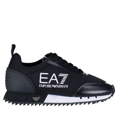 Picture of EA7 XSX004 kids sneakers navy