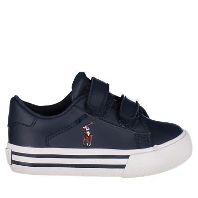 Picture of Ralph Lauren RF101126 kids sneakers navy