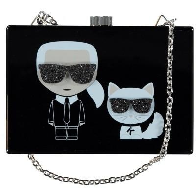 Afbeelding van Karl Lagerfeld Z10051 kindertas zwart