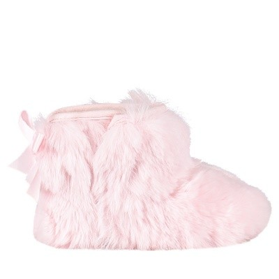 Picture of Ugg 1094493I baby slippers light pink